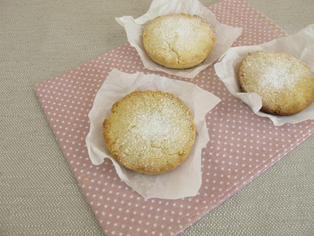 shortbread: Polvoron, spanish shortbread with ground almonds