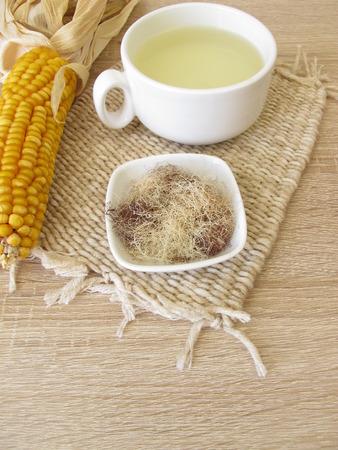 Tea with corn silk, Maydis stigma Фото со стока - 94057827