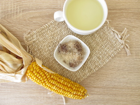 Tea with corn silk, Maydis stigma