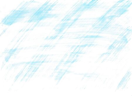 Watercolor background painted with blue stripes