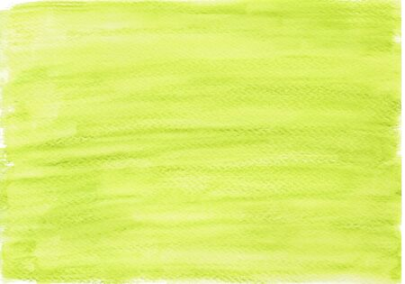 Watercolor background in bright green