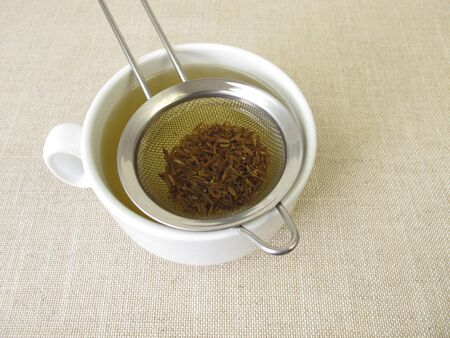 Tea from caraway seeds