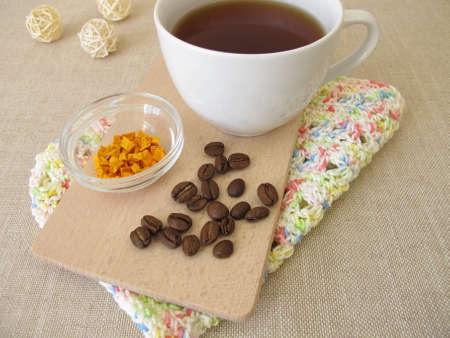 Coffee chai with curcuma