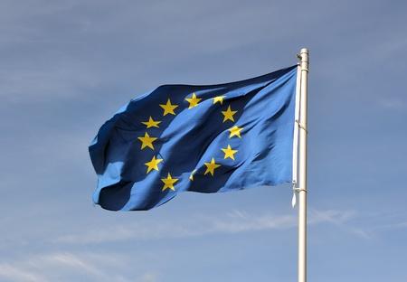 Europe flag Reklamní fotografie