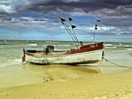 fishing fleet: Fishing boat
