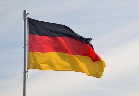 Flag Standard-Bild