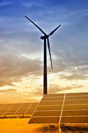 electricity tariff:  alternative energy Stock Photo