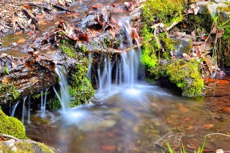 resortes: agua de manantial Foto de archivo