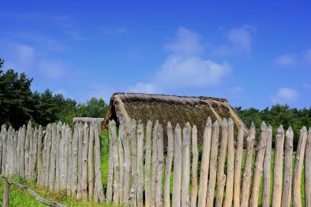 �ge de pierre: Village � l'�ge de pierre