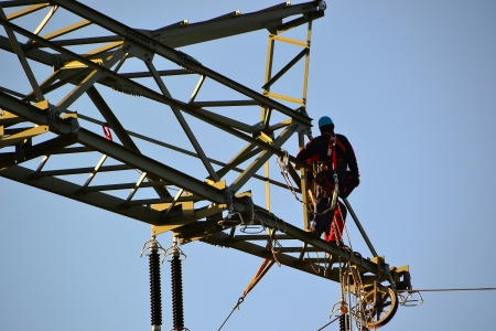 Electricity pylon photo