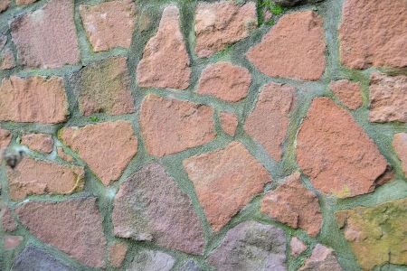 a wall of stones at a fortress in magdeburg Stock Photo - 17272046
