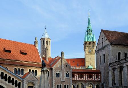 historisch gebouw in Braunschweig