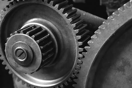 Gears of een oude machine