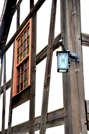 half timbered house: Half-timbered house