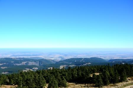brocken: View from the summit of the Brocken Editorial