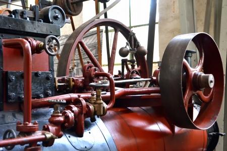 flywheel: steam engine