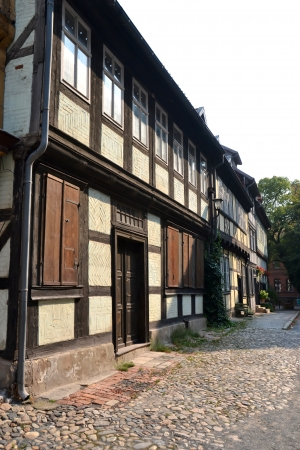 living idyll: Half-timbered houses in Quedlinburg
