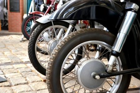 Motorräder in Technik Museum Magdeburg
