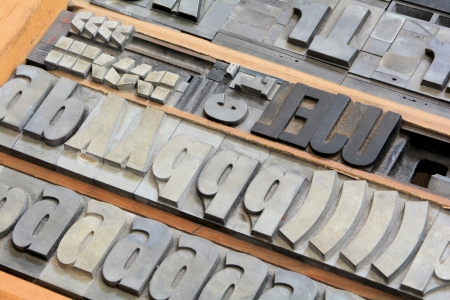 deprecated: in an old printing shop