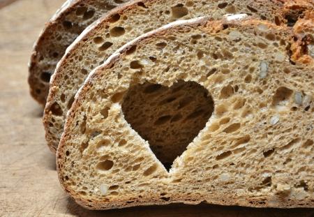 dieta sana: pan fresco para una dieta saludable