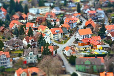 Stadtbild von Wernigerode