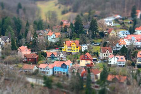Stadtansicht von Wernigerode