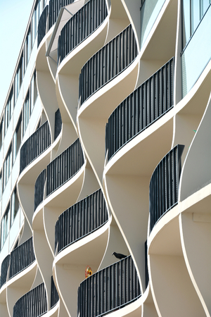 Arquitectura moderna Foto de archivo