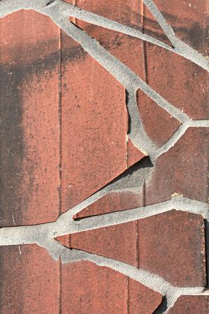 messed up: broken tiles as facade design