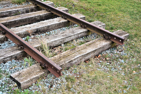 means to an end: Railroad tracks
