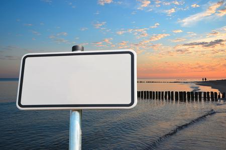 groyne: on the Baltic Sea beach