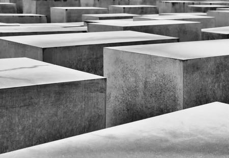 holocaust: the Holocaust Memorial in Berlin