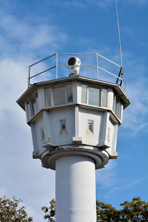 attempted: former watchtower on the Baltic Sea in Heiligendamm
