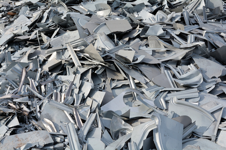 scrapheap: scrap at a junkyard waiting for Recycling