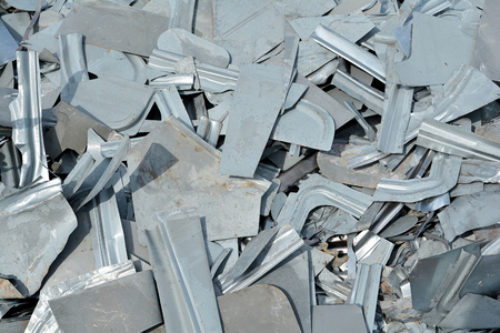 junkyard: scrap at a junkyard waiting for Recycling
