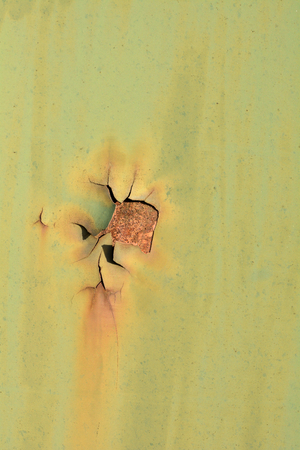 corroding: Rust on the surface of an old railway wagon