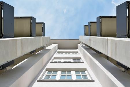 tot appartementen omgebouwde fabriek stamt in Magdeburg