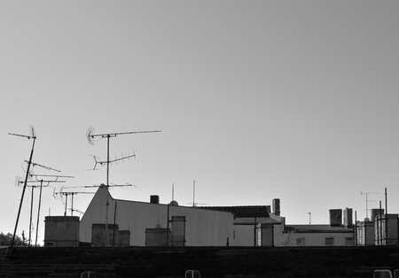 analogous: above the roofs of the city of Magdeburg