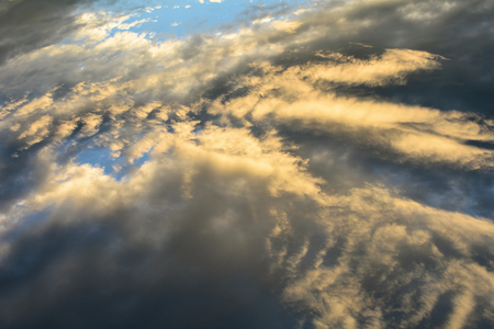 weather report: Cloudscape in the summer sky