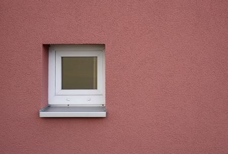 windowpane: single window at a facade