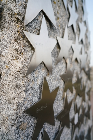 bene: stars with names of donors for the reconstruction of a bridge in Magdeburg Editorial