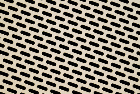 gratings: Perforated metal as a paneling for the facade of a parking garage