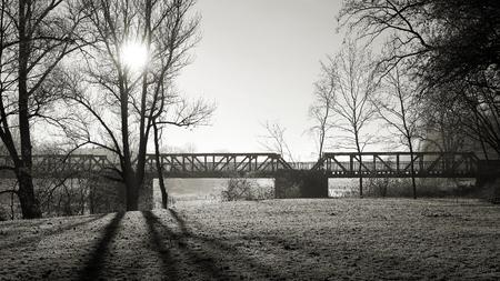 citypark: Old Bridge over the Elbe in Magdeburg