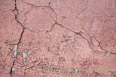 Damaged surface of the facade of a house 版權商用圖片