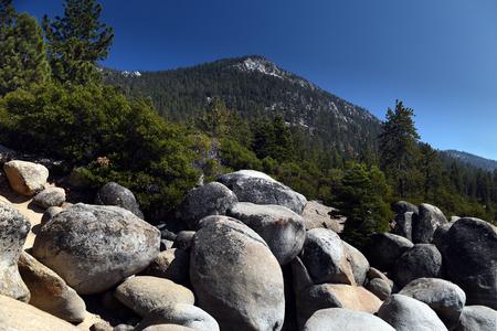 nevada: Sierra Nevada Mountains panorama view