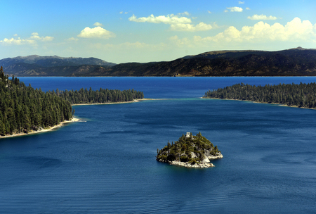 fannette: Lake Tahoe Emerald Bay Stock Photo