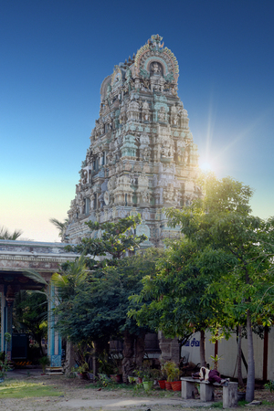 Ancient temple of Shiva, Kapaleeswarar, Chennai, India