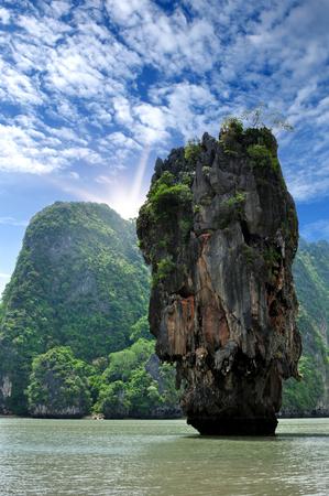 phang nga: Phang Nga ,Iceland in Thailand Stock Photo