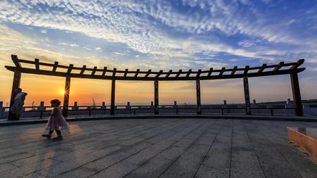 Dongshan sunset viewing platform