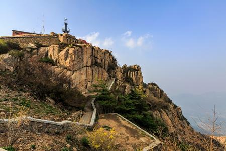 Taishan scenery Stock Photo