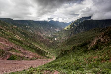 Chinas Tibet Markam natural scenery